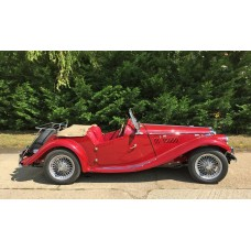 MG TF fully restored with 1500cc fast road engine