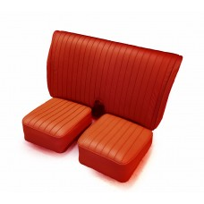 Leather seat assy - Red