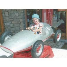 Peter's first race car