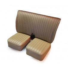 Leather seat assy beige