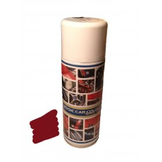 Engine paint - Dark red.  Spray