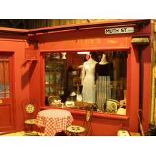 Vintage clothes shop