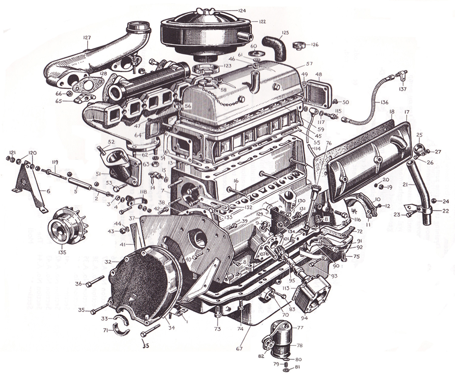 Tractor Engine Parts : Ford diesel tractor parts diagram auto wiring
