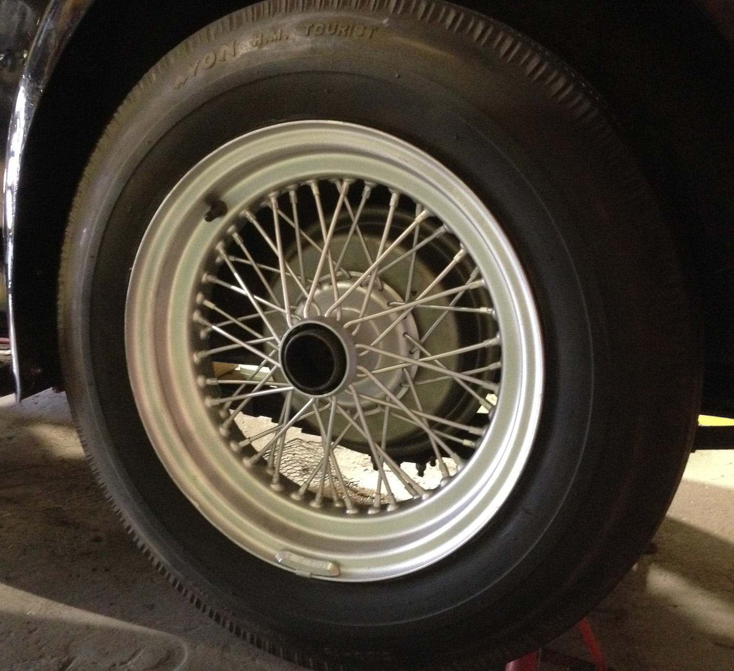 Wheels and tyres (4)